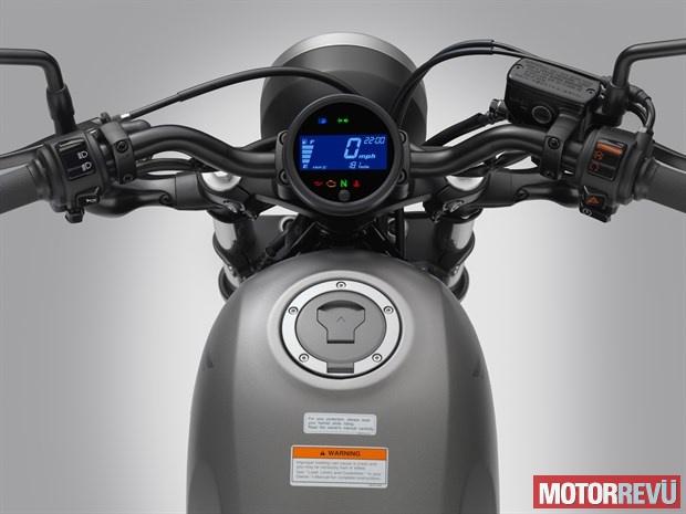 Motorok Honda Rebel (2017)