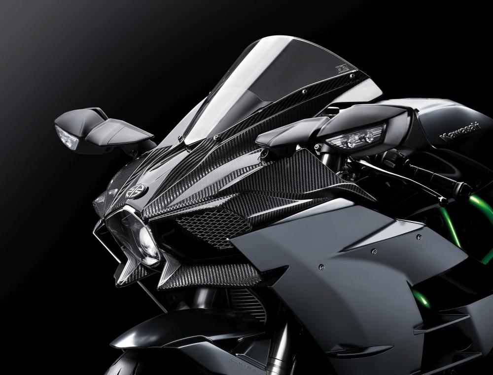 Motorok Kawasaki H2 Carbon