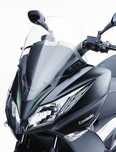 Motorok Kawasaki J125 - 2016