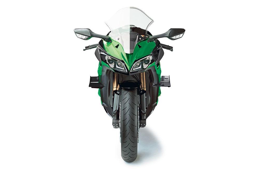 Motorok Kawasaki Z1000SX szabadalmi rajzok (2017)