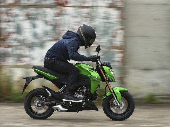 Motorok Kawasaki Z125 (2016)