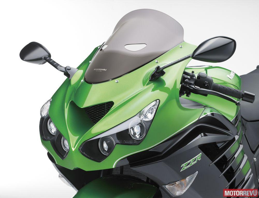 Motorok Kawasaki ZZR1400 (2016)