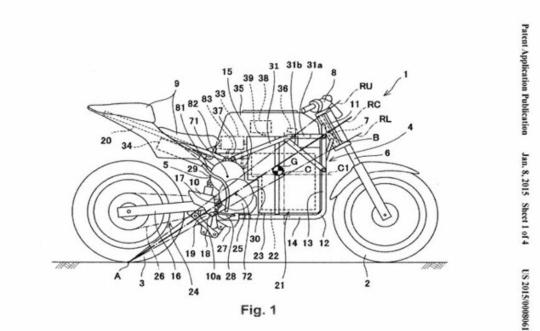 Motorok Kawasaki elektromos sportmotor szabadalmak