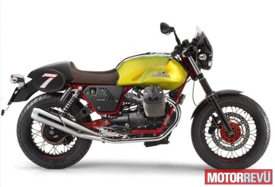 Motorok Moto Guzzi V7 Racer Verde Legnano SE