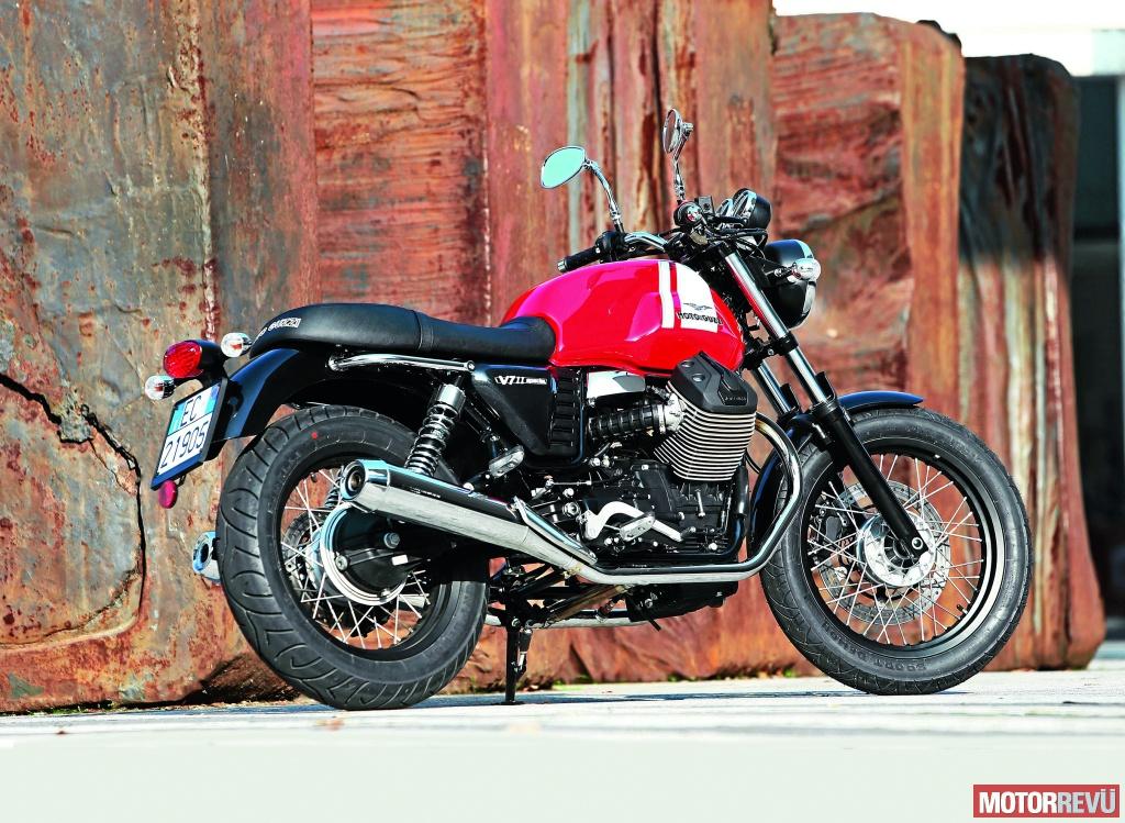 Motorok Moto Guzzi V7 modellek - 2014
