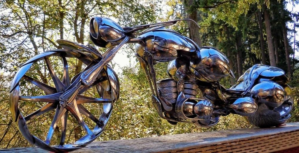 Motorok Motorkerékpár kanalakból