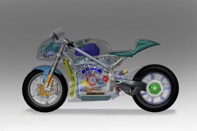 Motorok Norton V4 sportmotor