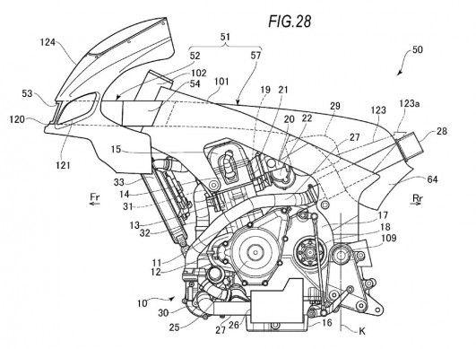 Motorok Suzuki Recursion szabadalom