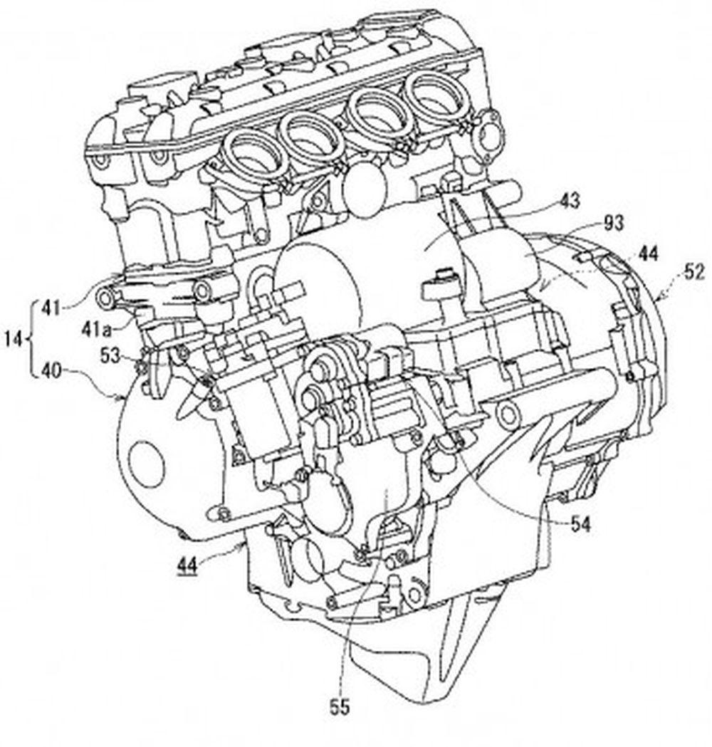 Motorok Suzuki hibrid szabadalom