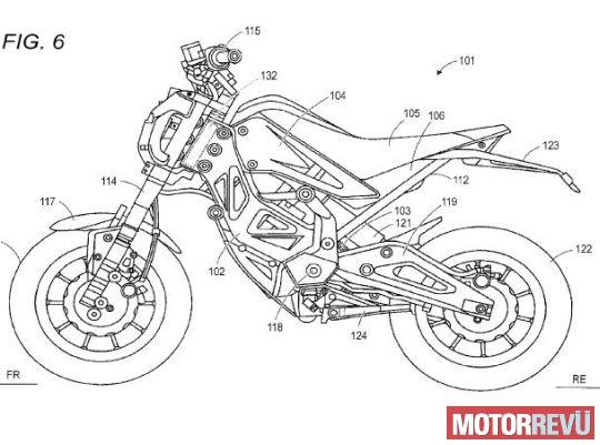 Motorok Suzuki szabadalmak