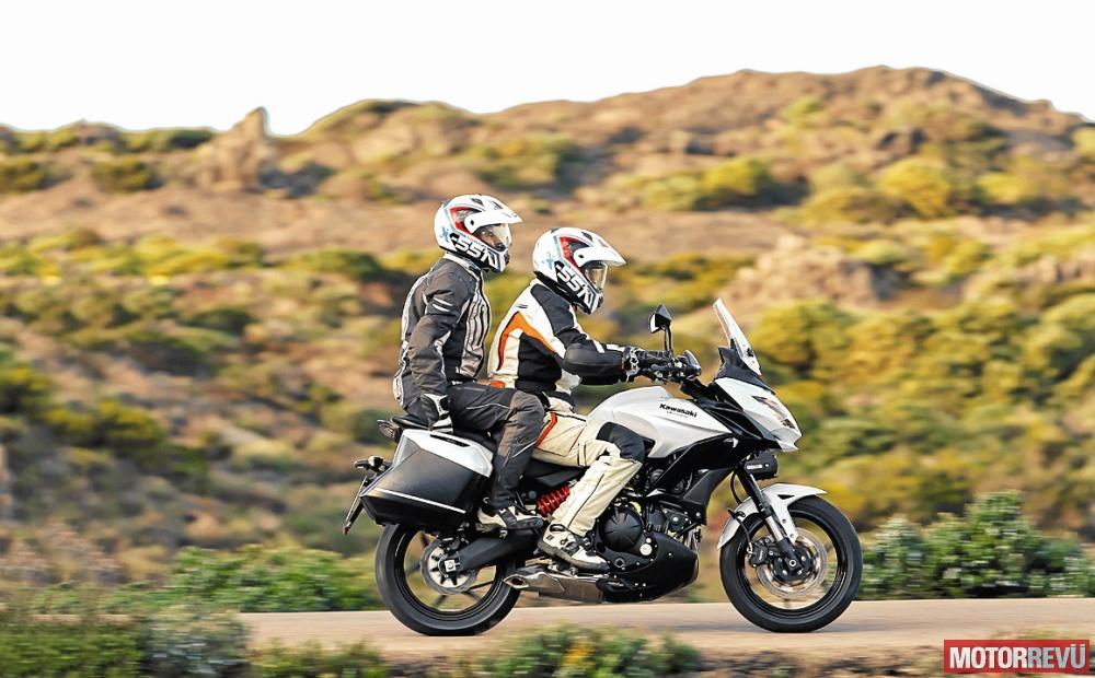Motorok Tesztek galériája Kawasaki Versys 650 és Suzuki DL650 összehasonlító teszt (2015)