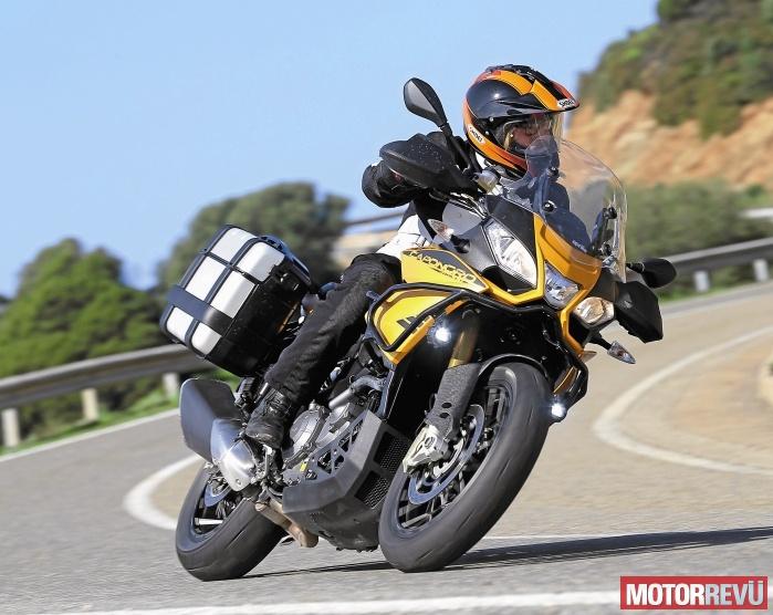 Motorok Tesztek galériája Aprilia Caponord 1200 Rally