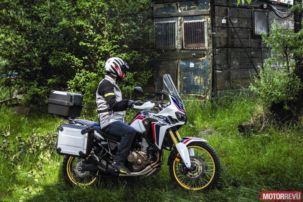 Motorok Tesztek galériája Honda CRF1000L Africa Twin (terepen)