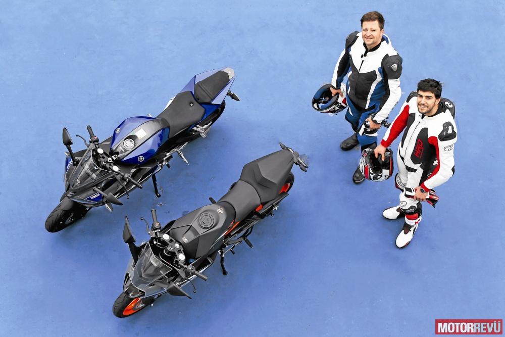 Motorok Tesztek galériája KTM RC 125 vs. Yamaha YZF-R125