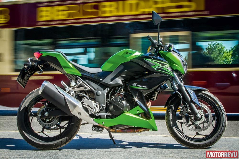 Motorok Tesztek galériája Kawasaki Z300