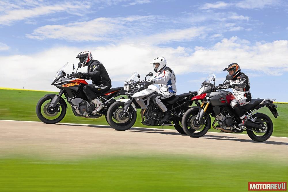 Motorok Tesztek galériája Középkategóriás túraendurók