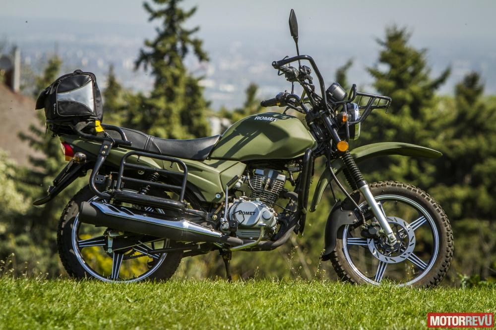 Motorok Tesztek galériája Romet ADV 150