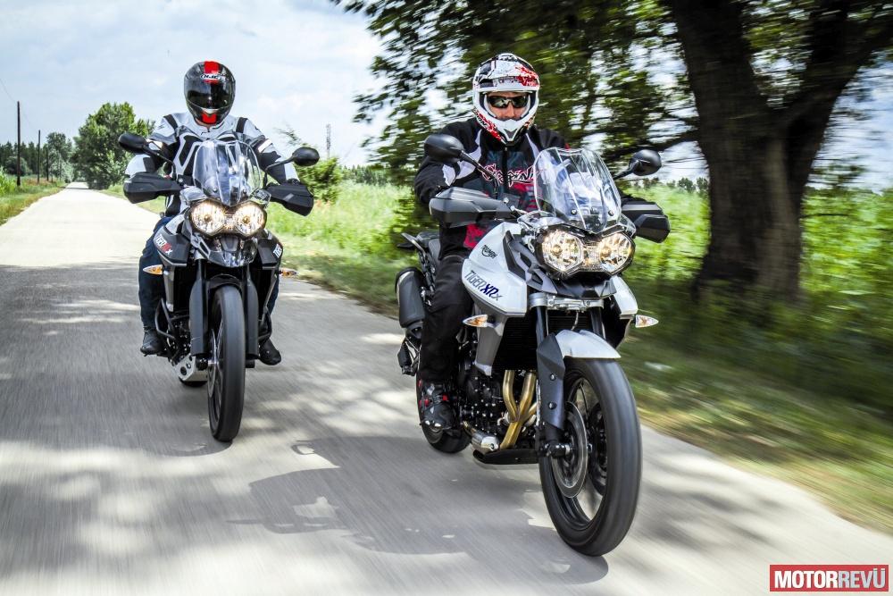 Motorok Tesztek galériája Triumph Tiger 800 XCx XRx 2015 teszt