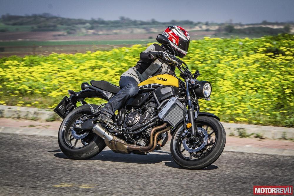 Motorok Tesztek galériája Yamaha XSR700 (2016)
