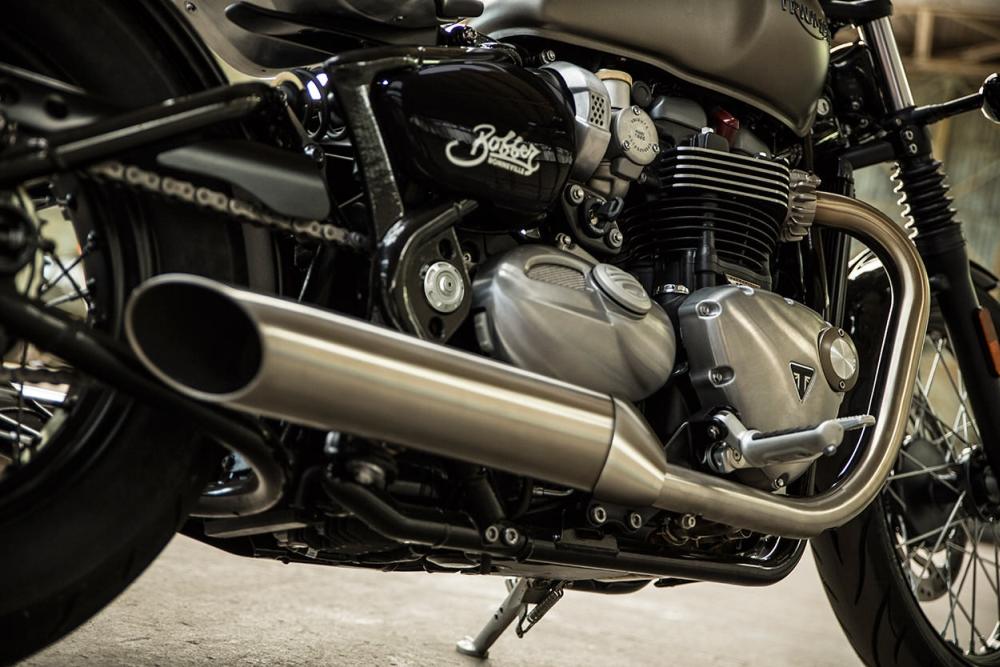 Motorok Triumph Bonneville Bobber (2017)