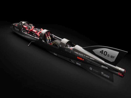Motorok Triumph Rocket III Streamliner