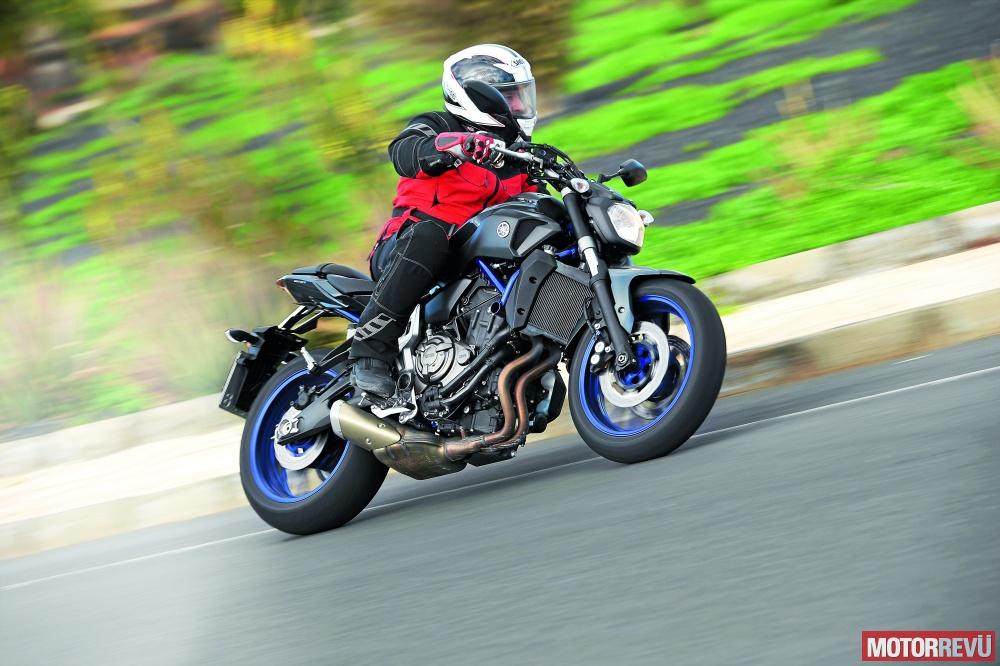 Motorok Yamaha MT-07