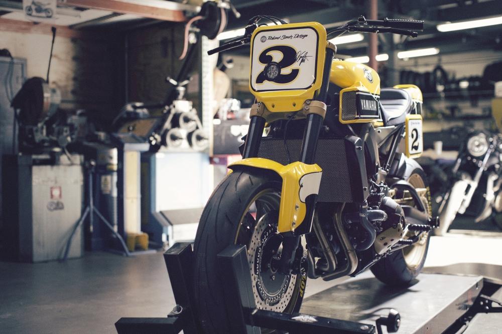 Motorok Yamaha MT-09 Roland Sands