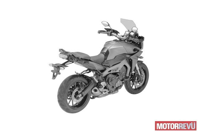 Motorok Yamaha MT-09X tanulmány