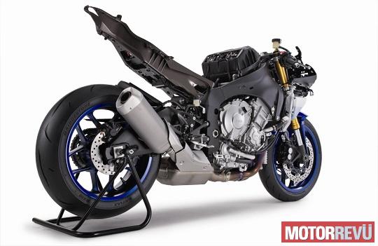 Motorok Yamaha YZF-R1 2015 Technika