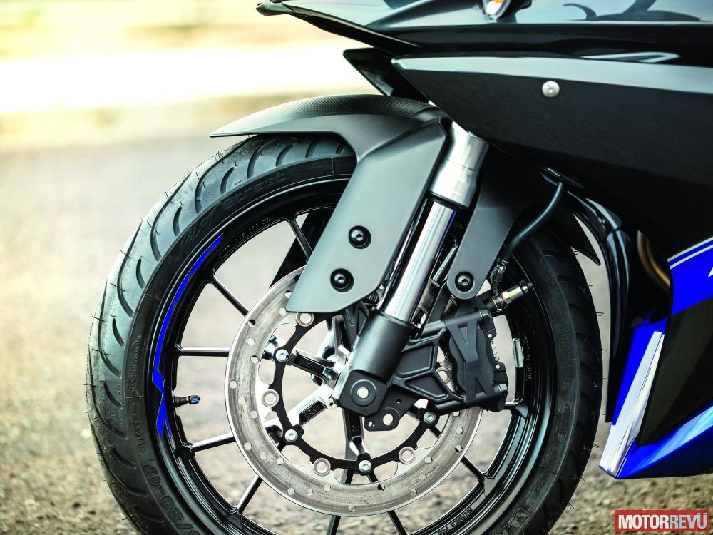 Motorok Yamaha YZF-R125 (2014)