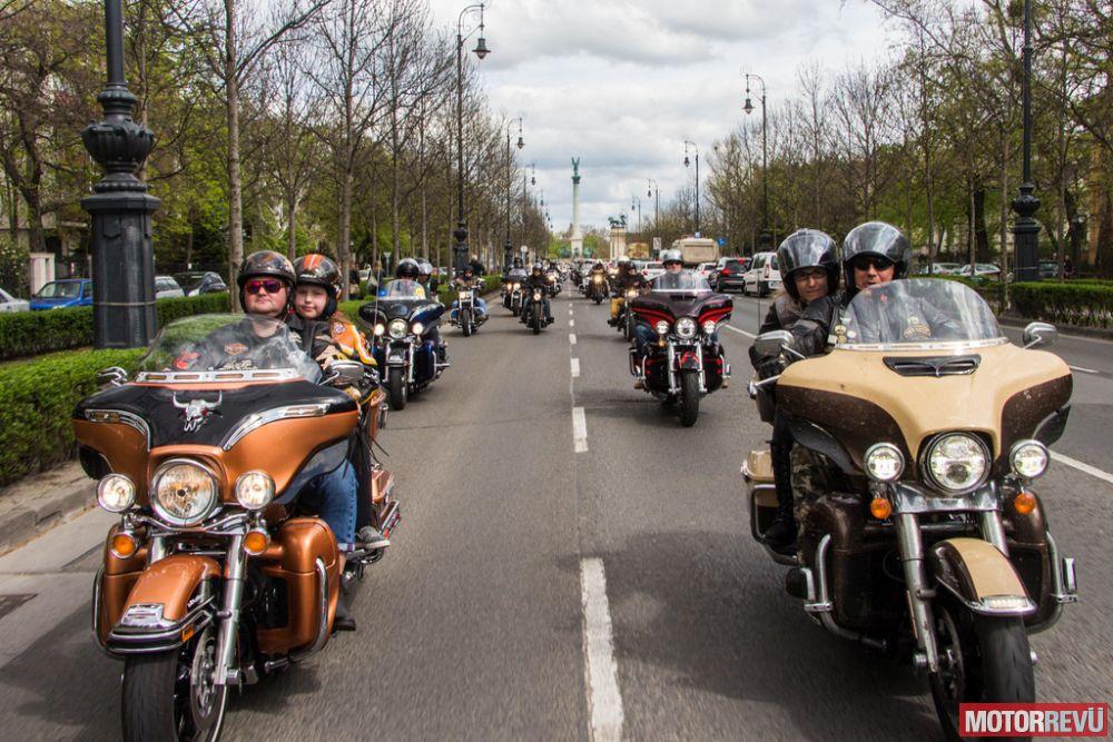 Találkozók, rendezvények Harley-Davidson Szezonnyitó (2017)