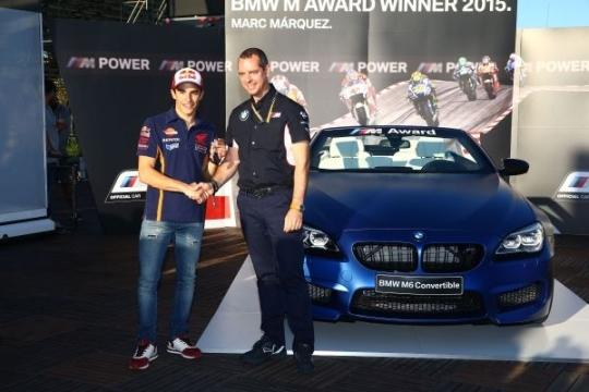 galéria Marc Márquez BMW M6 Cabrio